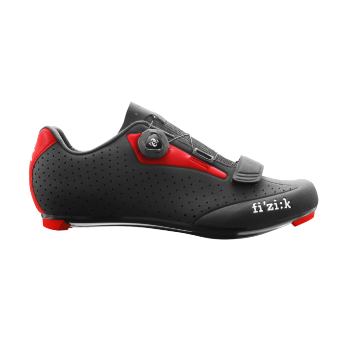 Chaussures Uomo Fizik R5b Rouge Noir Route CthQdsrx