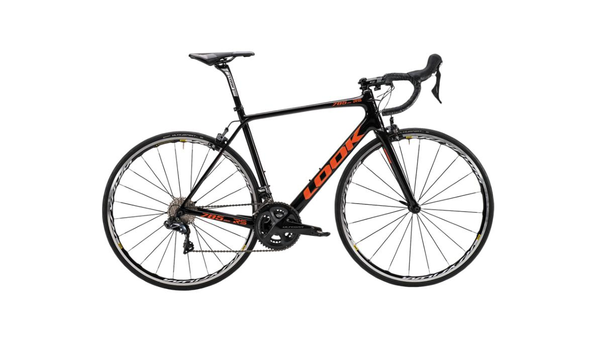 Vélo Route LOOK 785 Huez RS Ultegra Noir Orange