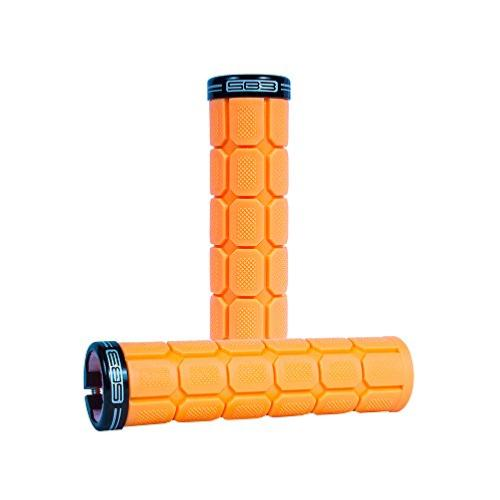 BIG ONE GRIPS NEON ORANGE/BLA