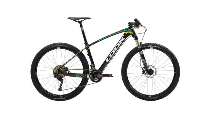 VTT LOOK 977 Black Fluo Green Yellow Glossy XT