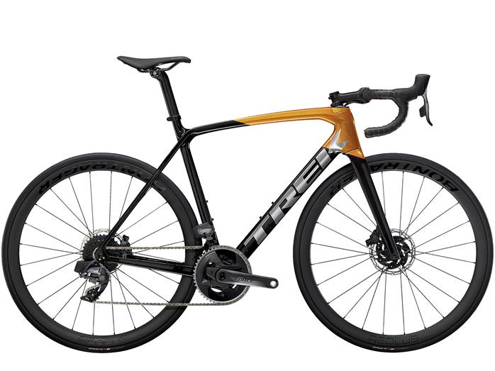 Vélo Route TREK Emonda SL 7 Disc eTap Noir Orange