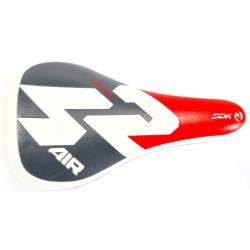 "SELLE JUNIOR ""SPORT 2"" BLANC/GRIS/ROUGE"